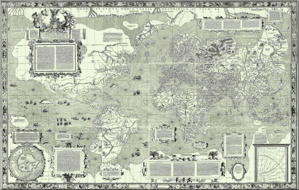 The original Mercartor map
